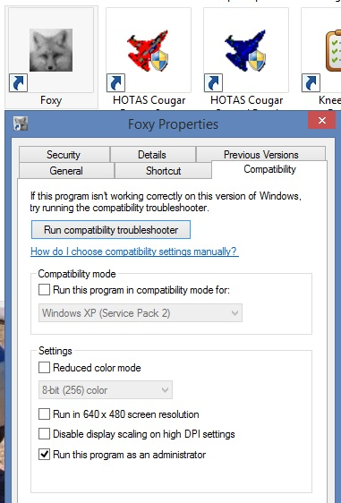 HOTAS Cougar software on a modern Windows - ED Forums