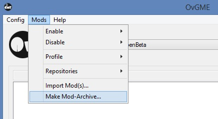 Using Ovgme To Apply Manage Mods Ed Forums